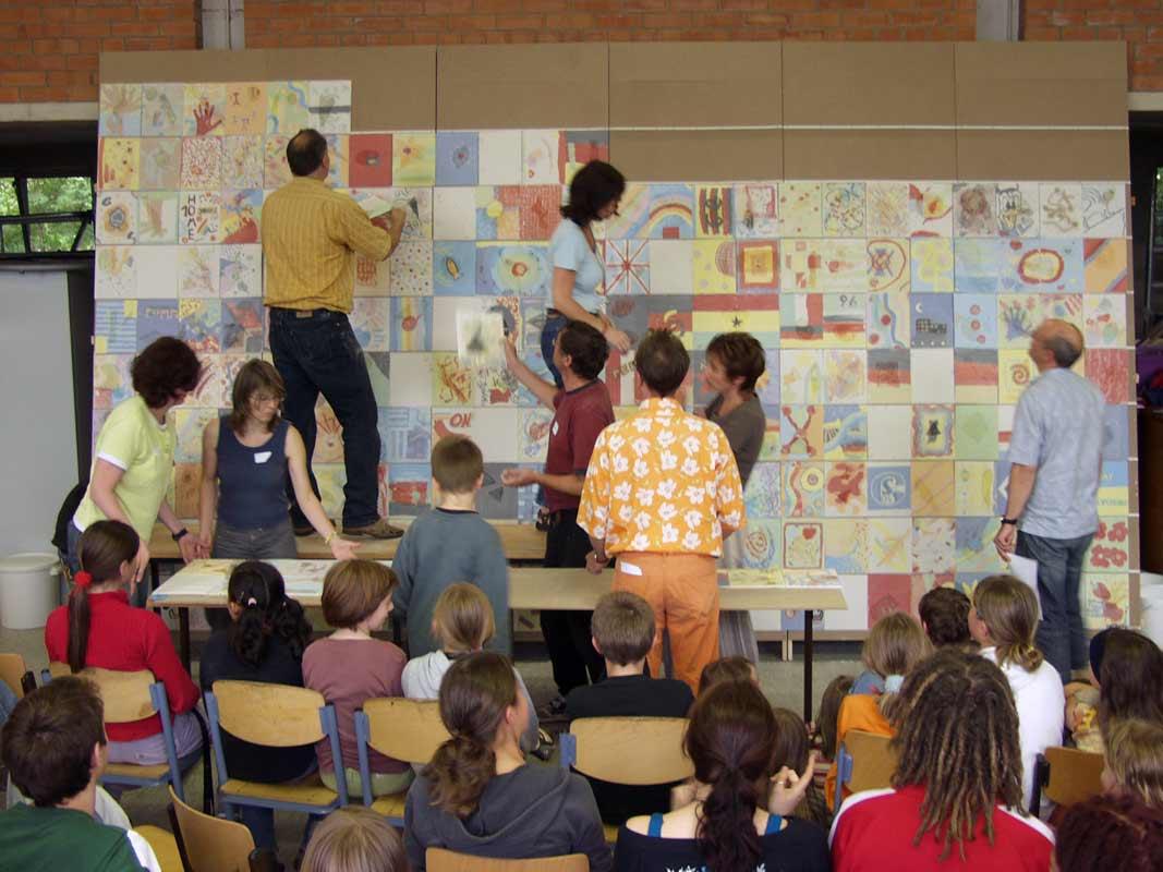 Netzwerkbild-Workshop mit der Glockseeschule in Hannover von Guido Kratz Bild 08