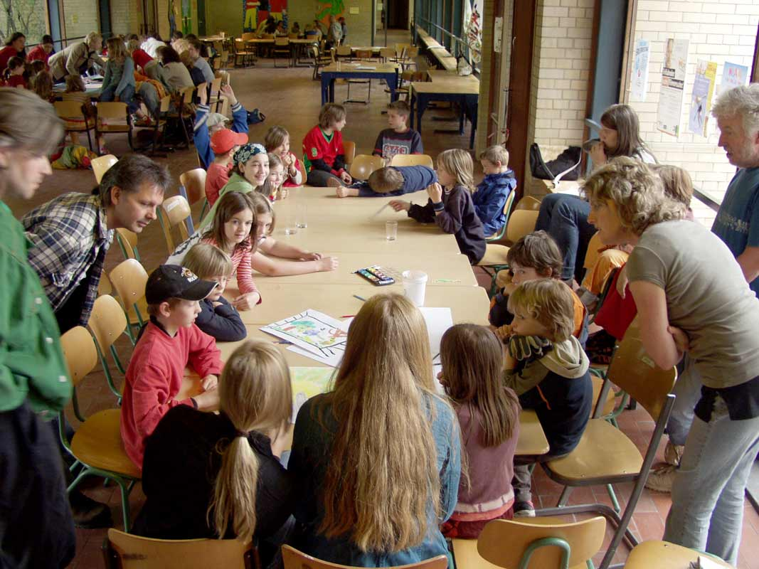 Netzwerkbild-Workshop mit der Glockseeschule in Hannover von Guido Kratz Bild 10