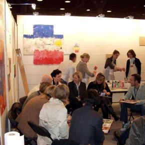 Netzwerkbild-Workshop von Guido Kratz aus Hannover auf der Cabin Expo von der Lufthansa in Frankfurt Bild 03