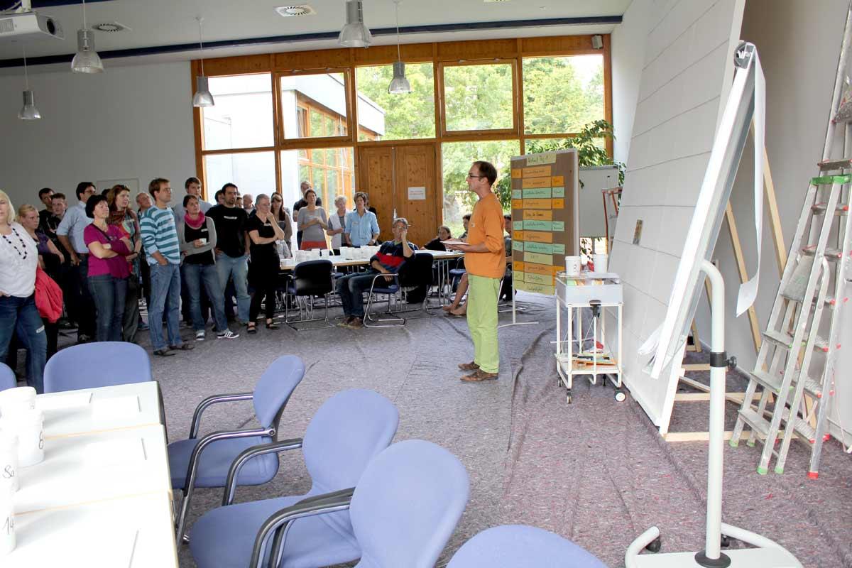 Netzwerkbild-Workshop, Teambildung, von Guido Kratz aus Hannover mit dem Unternehmen Windwärts Bild 01