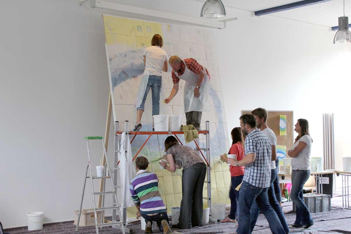 Netzwerkbild-Workshop, Teambildung, von Guido Kratz aus Hannover mit dem Unternehmen Windwärts Bild 10