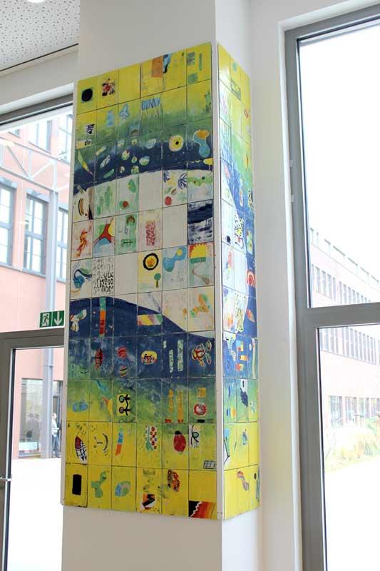 Netzwerkbild in der Cafeteria vom Unternehmen Windwärts in Hannover