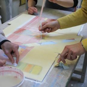 Teambildung als Kunstprojekt mit dem Landessportbund Niedersachsen von Guido Kratz aus Hannover 12