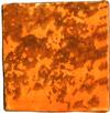 Keramikpflasterstein von Guido Kratz orange blau