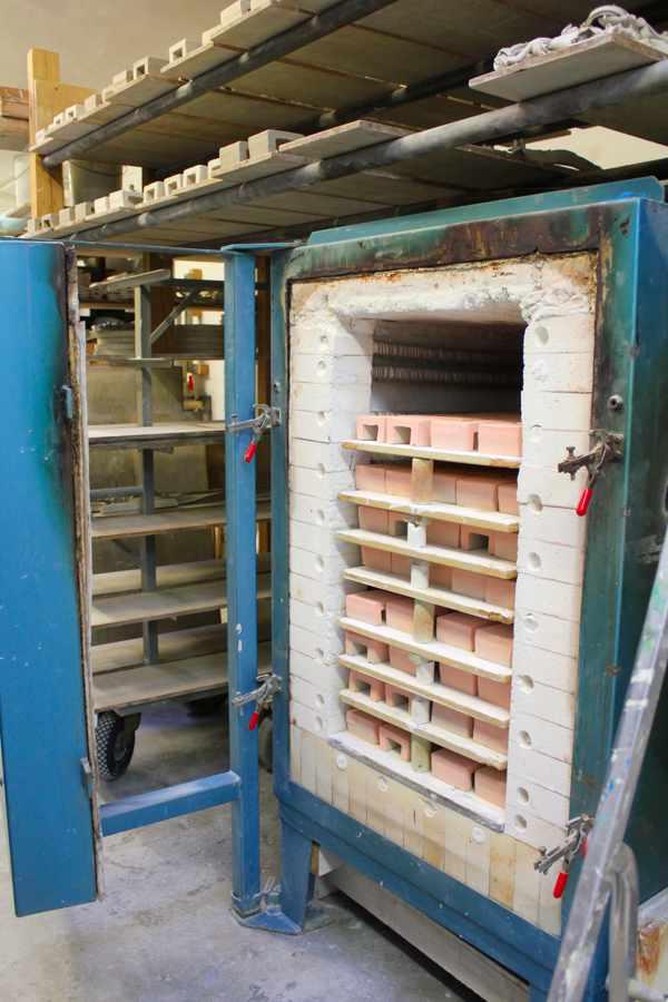 Pflastersteine Herstellung in der Werkstatt von Guido Kratz aus Hannover
