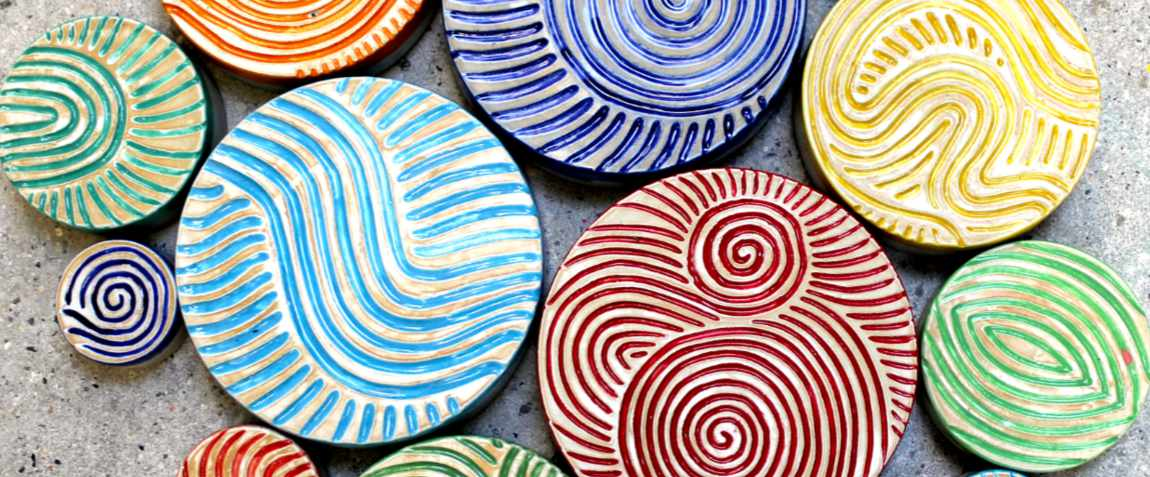 Keramik Pflastersteine rund rutschfest von Guido Kratz aus Hannover