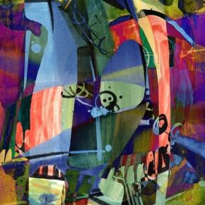 """""""Rockmusik"""", digitale Grafik und Fine Art Print von Guido Kratz aus Hannover"""