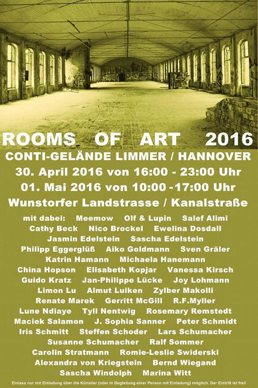 Rooms of Art 2016 in Hannover
