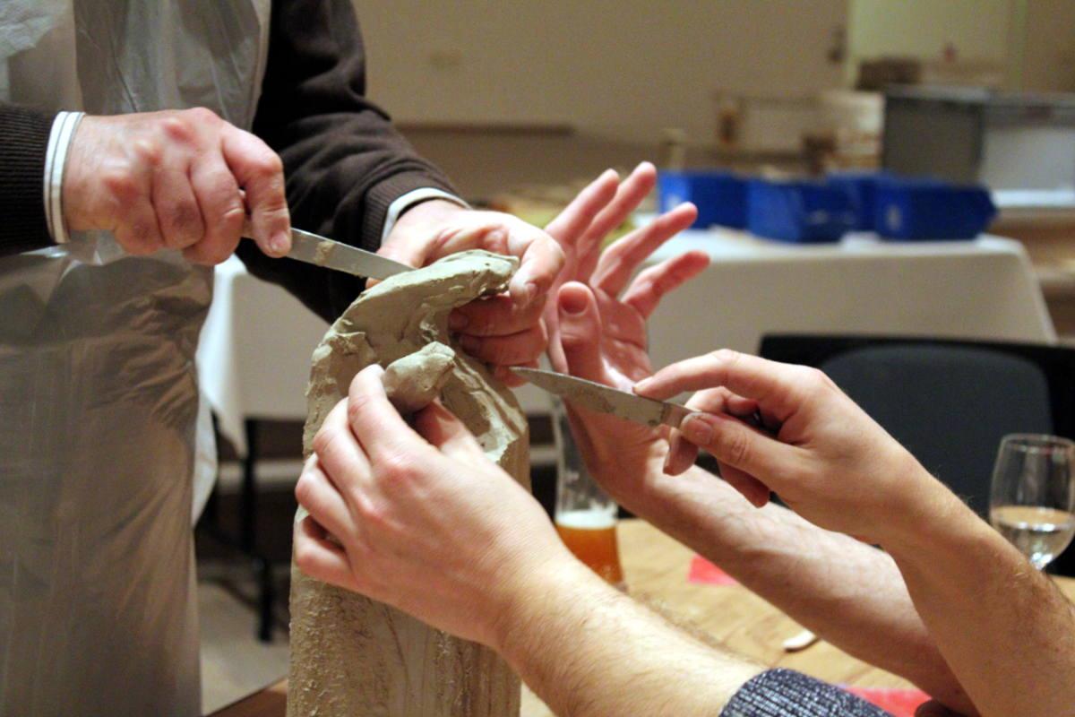 Skulpturenworkshop, Teambuilding 2 von Guido Kratz aus Hannover