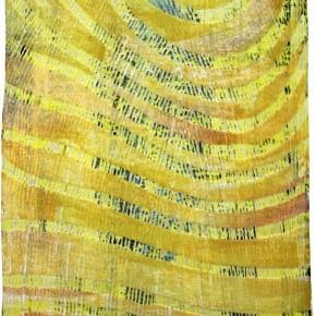 """""""Struktur 09"""", Hochtemperaturmalerei auf Keramik von Guido Kratz, Hannover, 2011"""