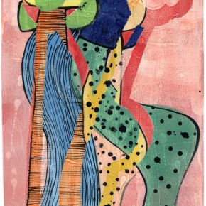 """""""Tangopaar 10-3"""" Hochtemperaturmalerei von Guido Kratz aus Hannover"""