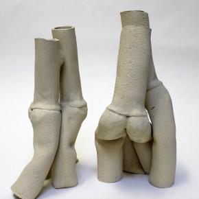 Tangopaar 14, Keramik-Skulptur von Guido Kratz aus Hannover