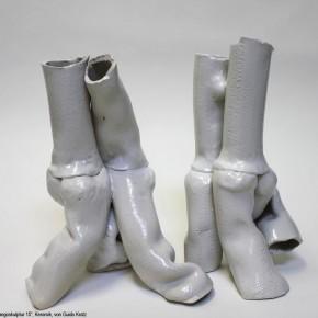 Tangopaar 15, Keramik-Skulptur von Guido Kratz aus Hannover