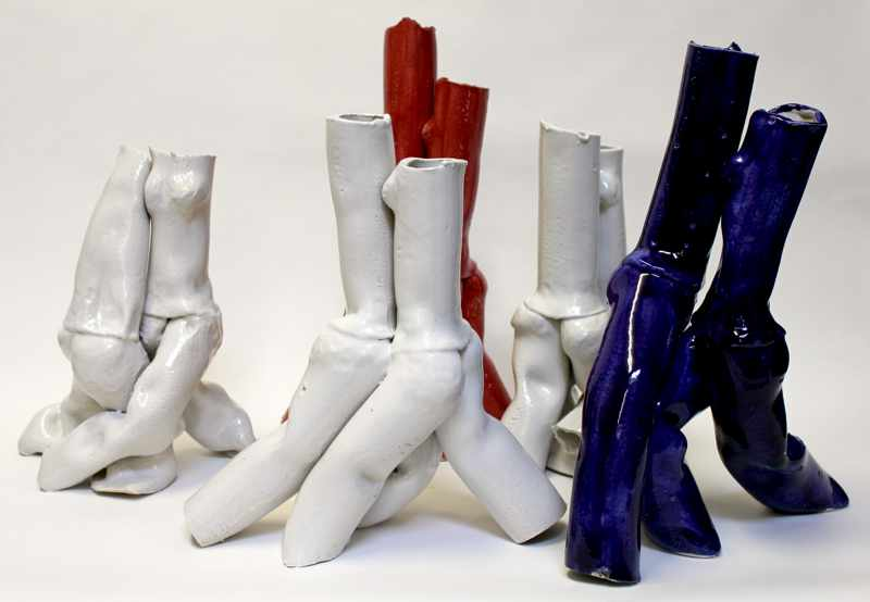 Tangoskulptur 21, Keramikskulptur von Guido Kratz aus Hannover