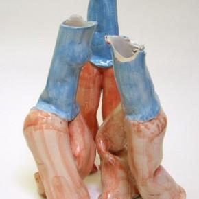Tangoskulptur 7, Keramik-Skulptur von Guido Kratz aus Hannover