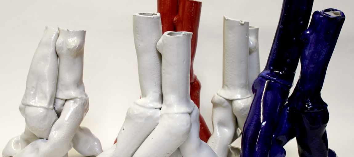 Tangoskulpturen aus Keramik von Guido Kratz aus Hannover