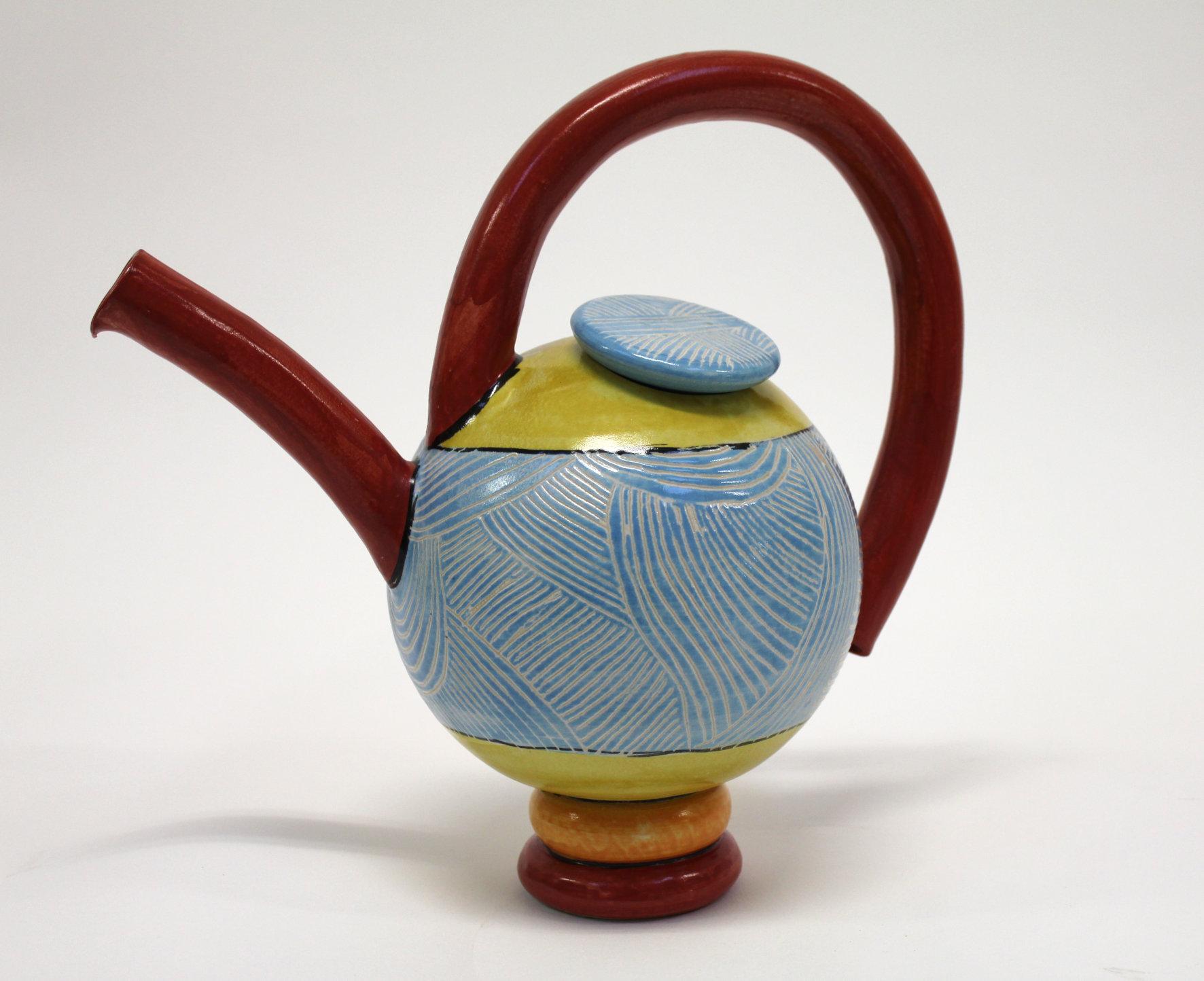 Keramik Teekanne von Guido Kratz aus Hannover