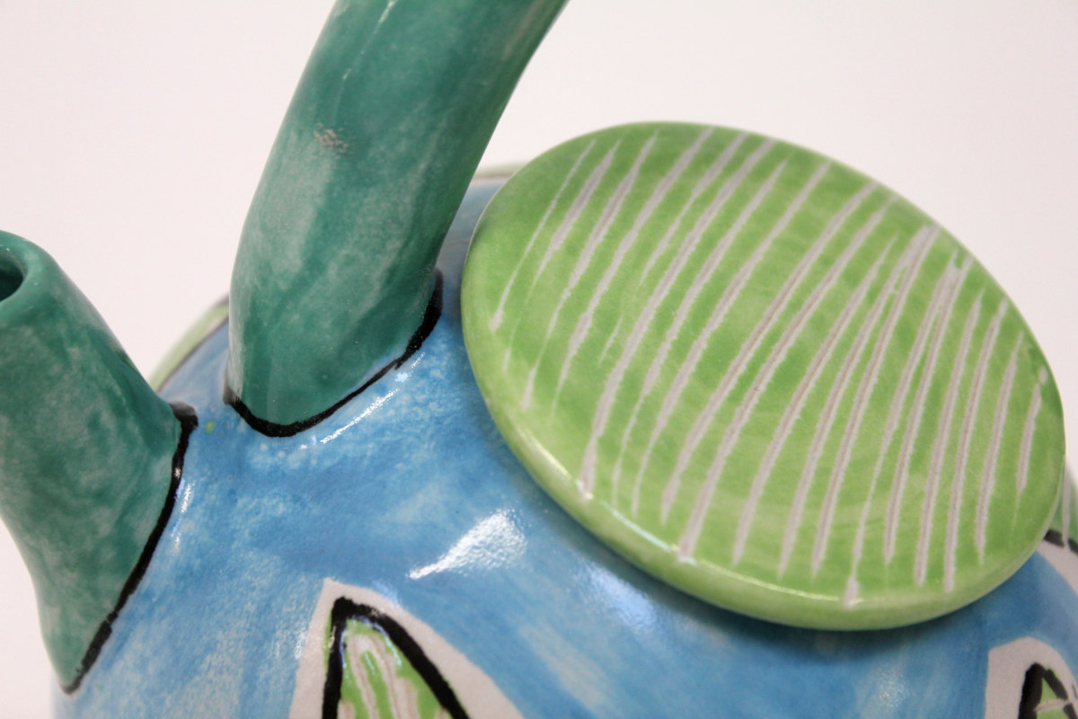 Teekanne, Keramik, von Guido Kratz aus Hannover 7