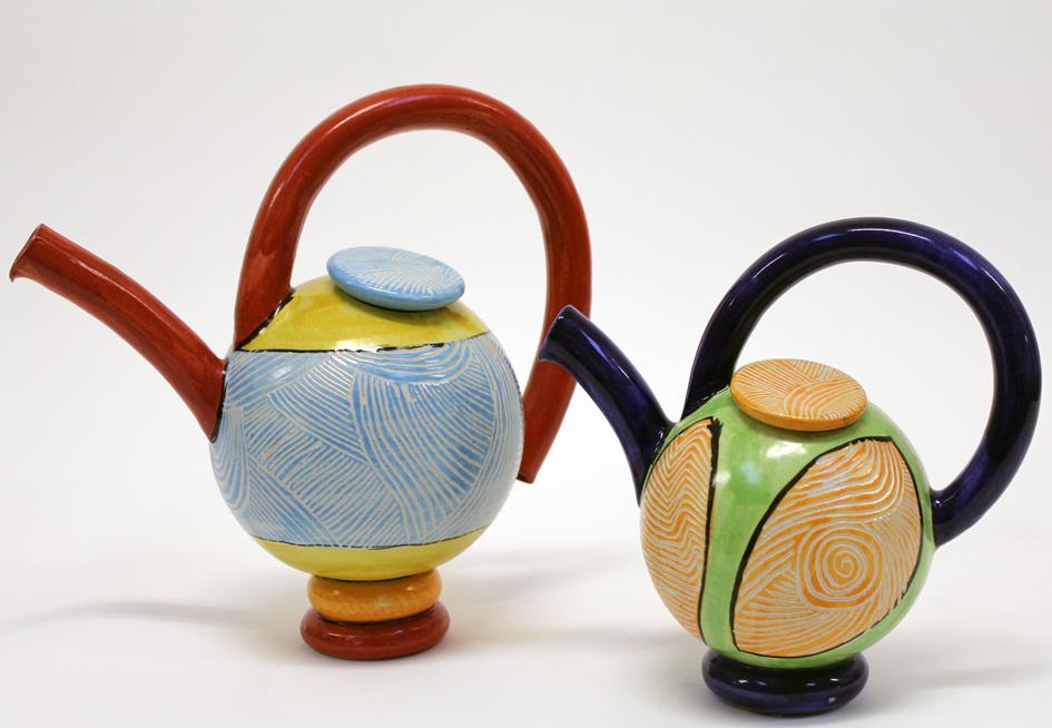 Teekanne, Keramik, von Guido Kratz aus Hannover 1
