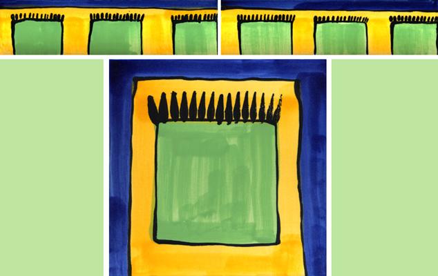 bord ren mit passenden fliesen guido kratz. Black Bedroom Furniture Sets. Home Design Ideas