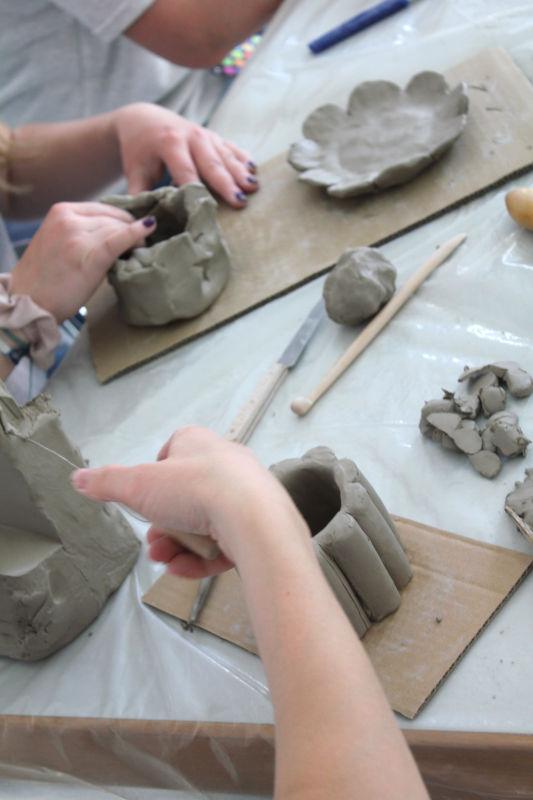 Volle Kanne 02 ein social sculpture Workshop Gemeinschaftsskulptur von Guido Kratz