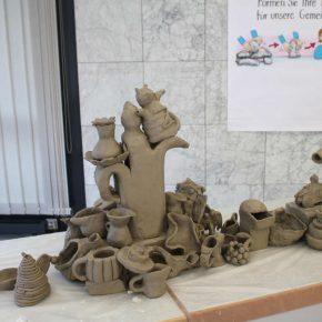 Volle Kanne 03 ein social sculpture Workshop Gemeinschaftsskulptur von Guido Kratz