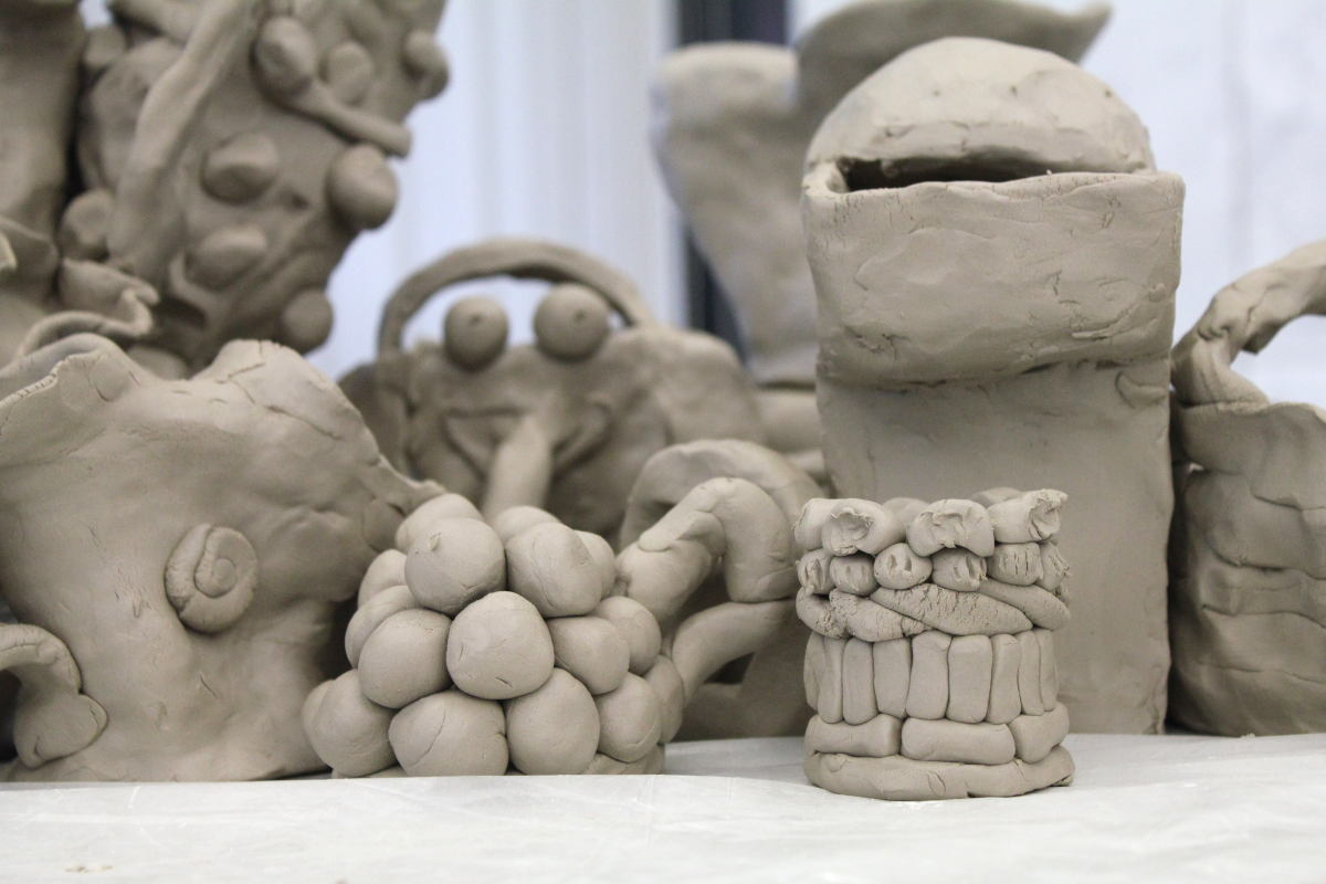 Volle Kanne 06 Workshop Gemeinschaftsskulptur von Guido Kratz aus Hannover