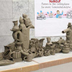 Volle Kanne 07 Workshop Gemeinschaftsskulptur von Guido Kratz aus Hannover