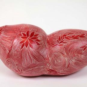 Keramik Gefäß-Objekt 17 von Guido Kratz aus Hannover