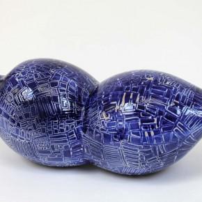 Keramik Gefäß-Objekt 20 von Guido Kratz aus Hannover