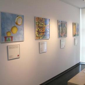 Eröffnung der neunten Kunst hilft wirklich Ausstellung von Guido Kratz und Maria Eilers in der Wedemark Bild 03