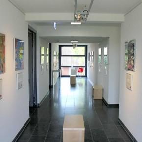 Eröffnung der neunten Kunst hilft wirklich Ausstellung von Guido Kratz und Maria Eilers in der Wedemark Bild 04