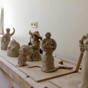 Weibsbilder, ein Skulpturen-Workshop von Guido Kratz aus Hannover, Bild 04