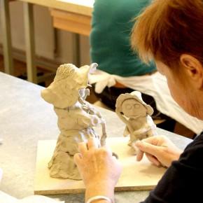 Weibsbilder, ein Skulpturen-Workshop von Guido Kratz aus Hannover, Bild 11