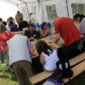 Relief-Workshop in Bad Münder von Guido Kratz aus Hannover Bild 01