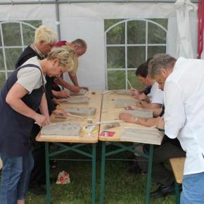 Relief-Workshop in Bad Münder von Guido Kratz aus Hannover Bild 04
