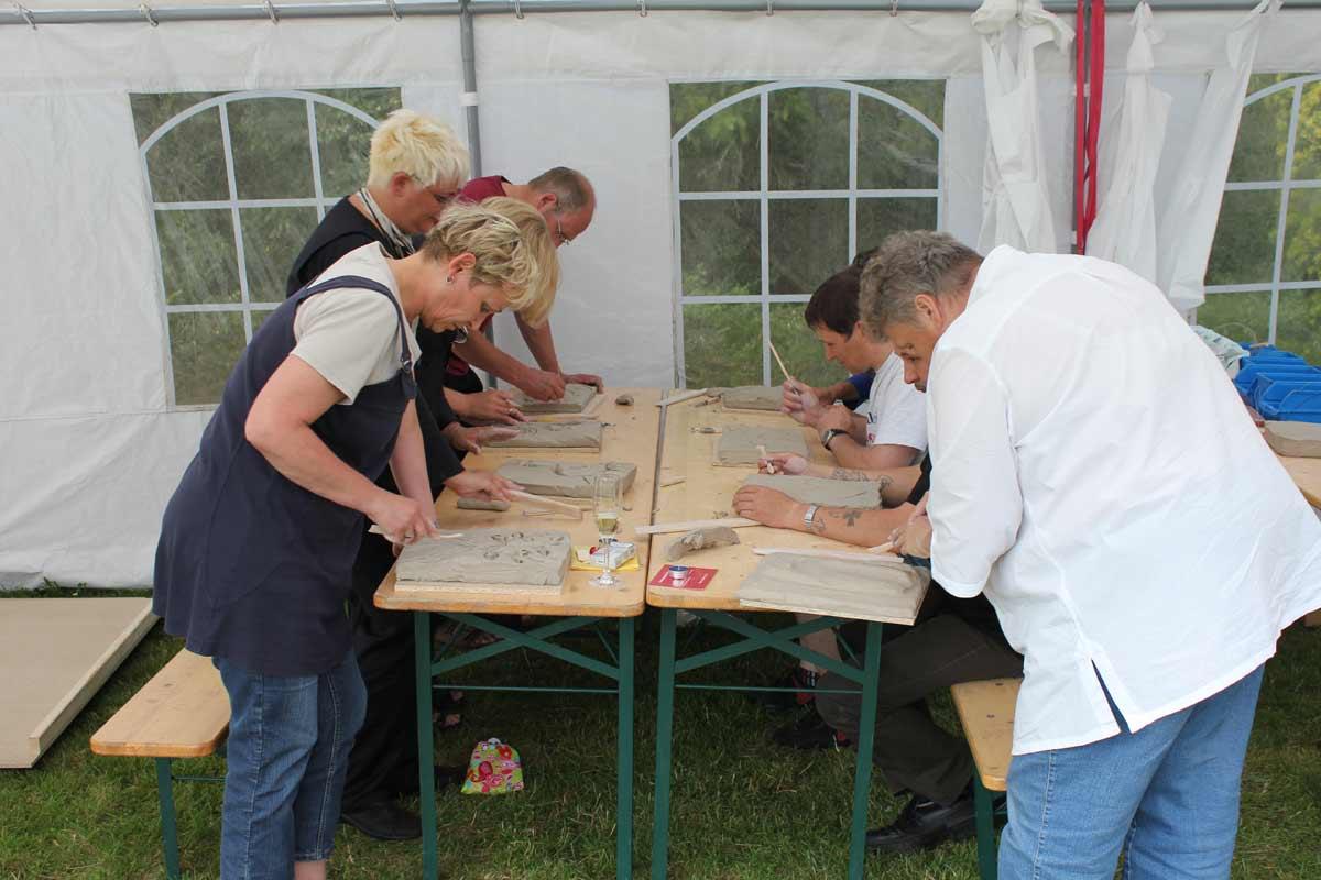 Relief aus einem Teambildungs-Workshop in Bad Münder von Guido Kratz aus Hannover Bild 04