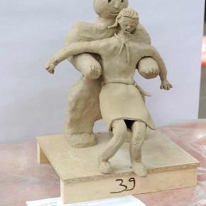 Skulpturen-Workshop mit Unternehmensleitsätzen von Guido Kratz aus Hannover Bild 01
