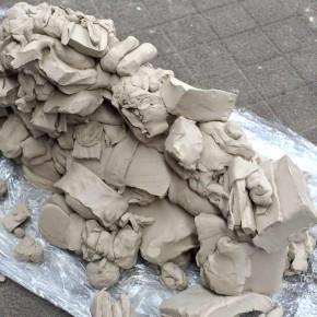 Skulpturen-Workshop mit Unternehmensleitsätzen von Guido Kratz aus Hannover Bild 05