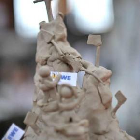 Skulpturen-Workshop mit Unternehmensleitsätzen von Guido Kratz aus Hannover Bild 06