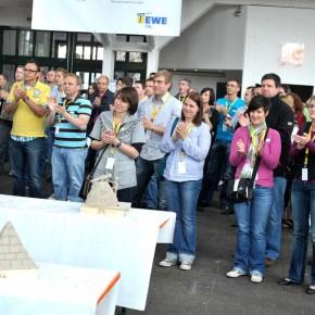 Skulpturen-Workshop mit Unternehmensleitsätzen von Guido Kratz aus Hannover Bild 08