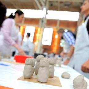 Skulpturen-Workshop mit Unternehmensleitsätzen von Guido Kratz aus Hannover Bild 11