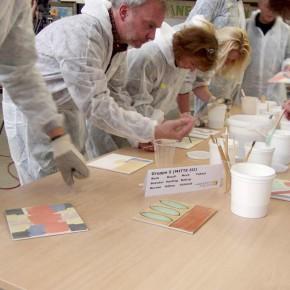 Teambildung als Kunstprojekt von Guido Kratz aus Hannover mit Haworth Bild 02