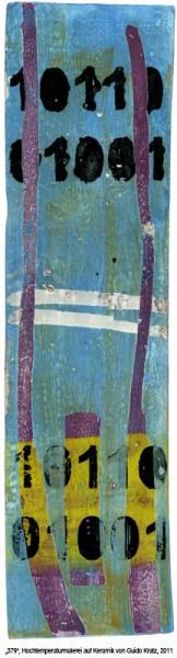 """""""10110"""", Hochtemperaturmalerei auf Keramik von Guido Kratz, Hannover"""