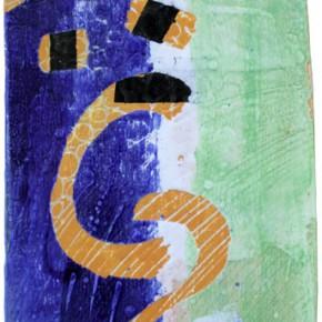"""""""12"""", Hochtemperaturmalerei auf Keramik von Guido Kratz, Hannover"""