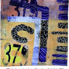 """""""379"""", Hochtemperaturmalerei auf Keramik von Guido Kratz, Hannover"""