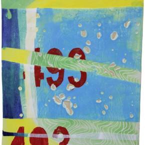 """""""493"""", Hochtemperaturmalerei auf Keramik von Guido Kratz, Hannover"""