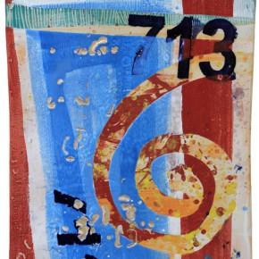 """""""713"""", Hochtemperaturmalerei auf Keramik von Guido Kratz, Hannover"""