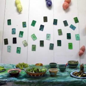 """""""Alles nochmal in grün"""", Ausstellung von Guido Kratz und R.F. Myller aus Hannover 07"""