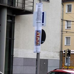"""Bild 01, aus """"malText 30169"""", ein Kunstprojekt von Guido Kratz und Maria Eilers aus Hannover"""